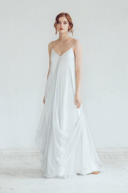 pregnancy bridal gown