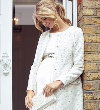 maternity wedding dress coat