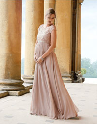 long plus size maternity wedding dresses