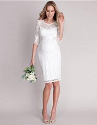 cocktail maternity wedding dress plus size