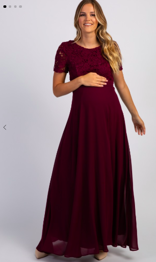 long maternity wedding guest dress