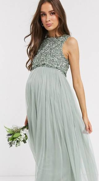 wedding guest dress for pregnant