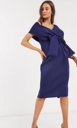 structured maternity dress