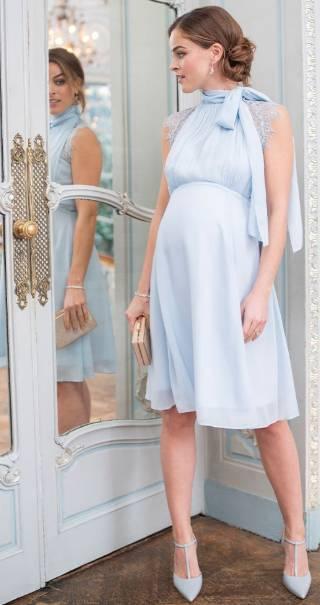 maternity and nursing wedding guest dress