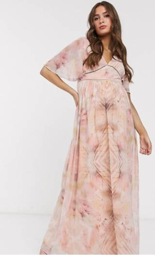 maternity wedding guest dress from asos