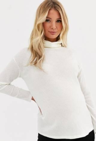 stylish long sleeve maternity t shirt