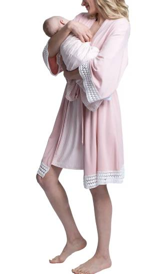 matching nightgown and baby set