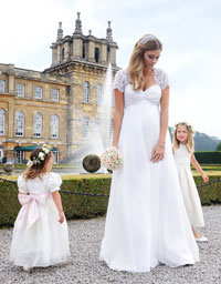 plus size maternity wedding dress good quality