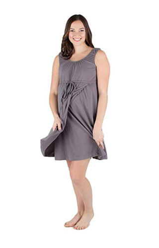 Plus Size Maternity Hospital Gowns For Both Labor And