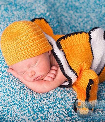 baby boy outfit nemo