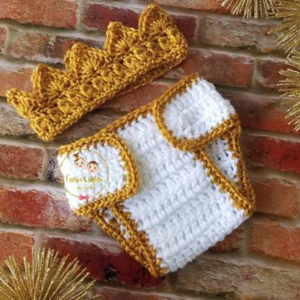 king outfit for newborn photo