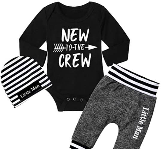 new to the crew outfit