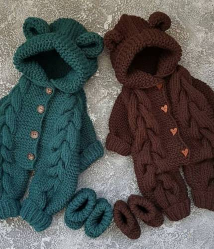 newborn baby boy winter outfit for photo