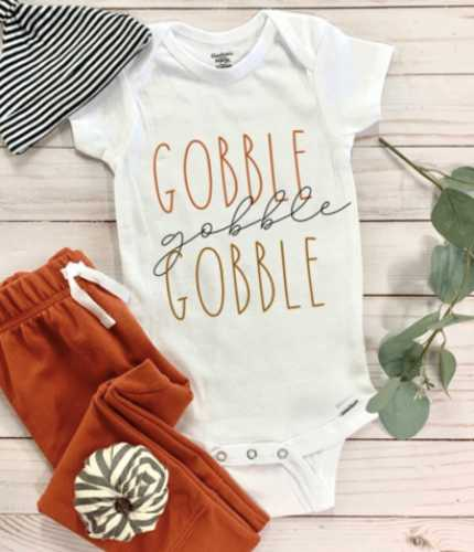 newborn thanksgiving clothes