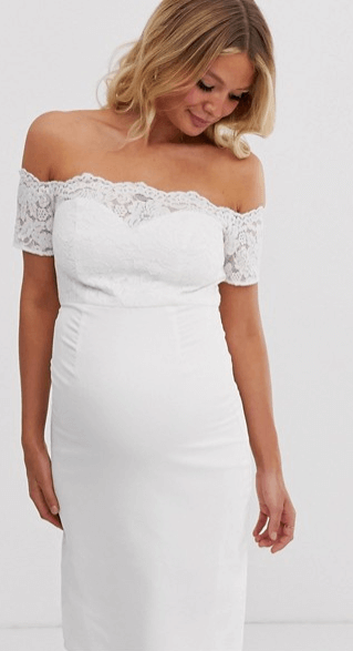 maternity-wedding-dress-from-ASOS