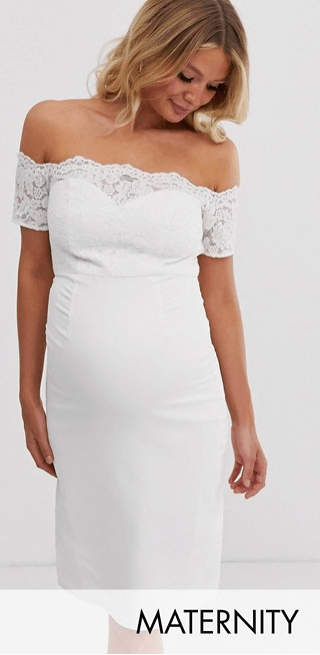 maternity-wedding-dress-from-ASOS