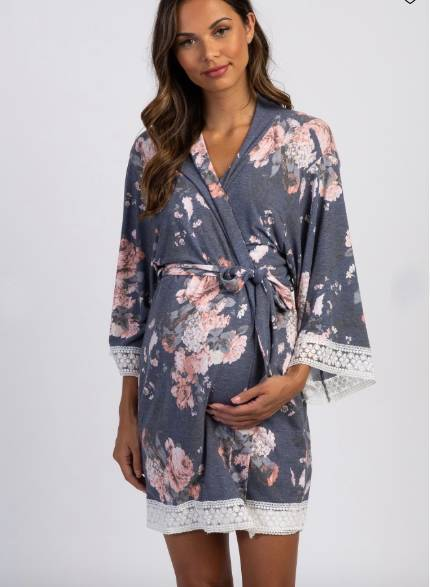 Delivery and Nursing Maternity Robe