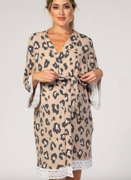 Nursing Maternity Robe