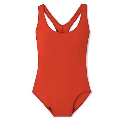 red period swimsuit