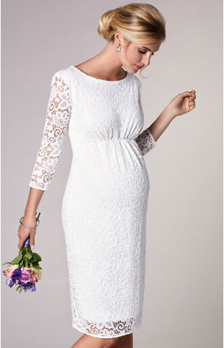 short-maternity-wedding-dress