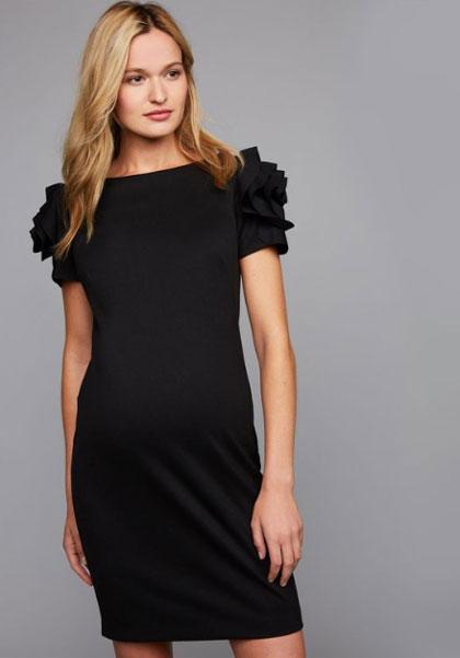 Maternity designer dress