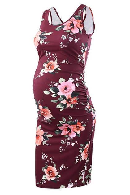 cheap maternity summer dress