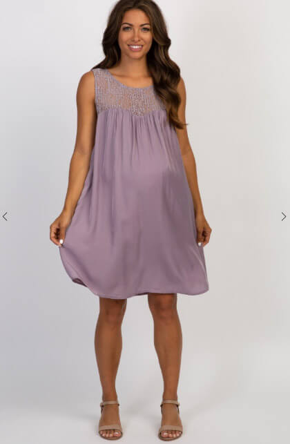 short maternity summer dress