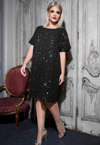 party cocktail dress for plus size women