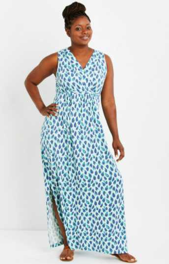affordable plus size summer dress