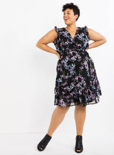 sweet plus size dress for mothers to be