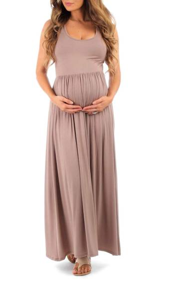 cheap maternity maxi dress in regular and plus size