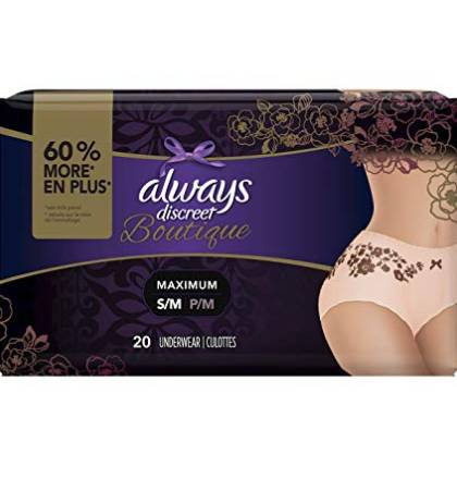 disposable period proof underwear