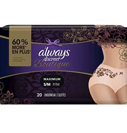 disposable period proof underwear