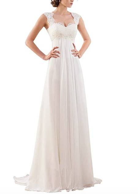 best selling maternity wedding gown