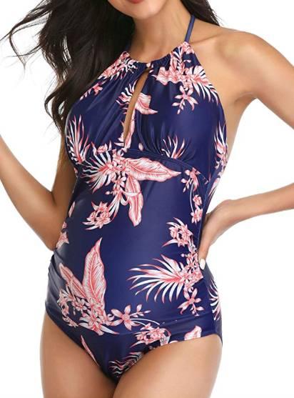 elegant maternity swimsuit