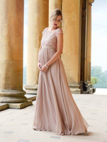 luxe maternity bridesmaid dresses