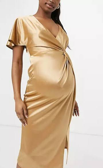 party dress for pregnant woman