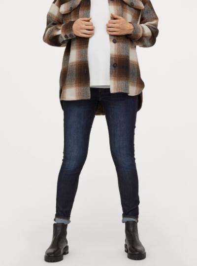 stretchy maternity jeans
