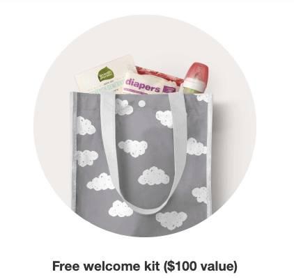 baby shower registry lists on Target