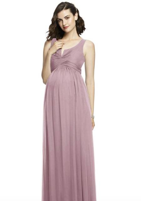 maternity dress for bridesmaid in plus size