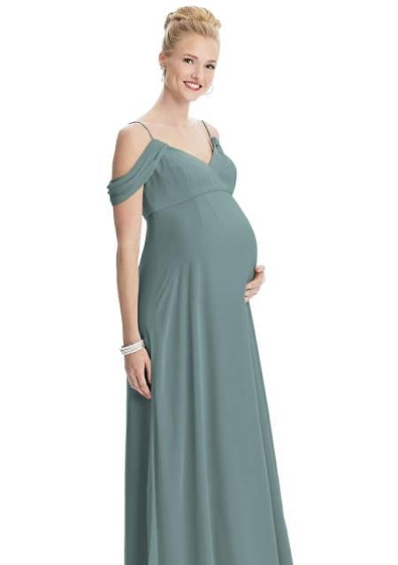 bridesmaid dress for big pregnant girls