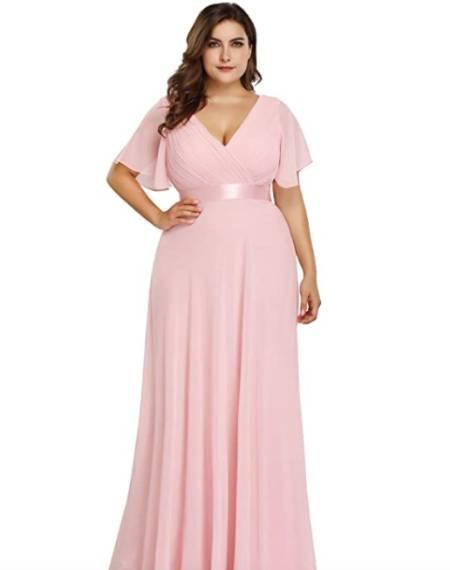 plus size maternity friendly bridesmaid dresses