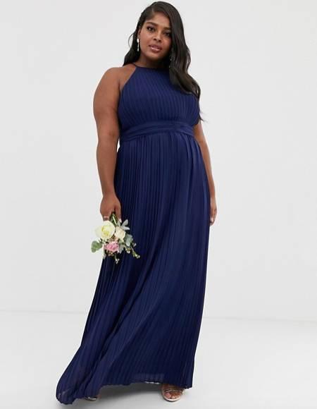 elegant plus size maternity bridesmaid dress