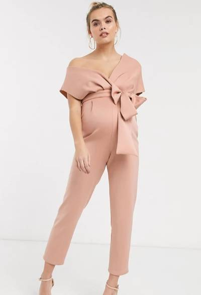 maternity jumpsuit for a wedding