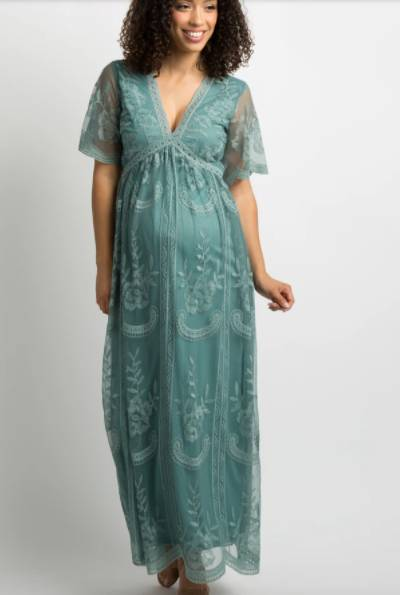 maternity dress for casual wedding