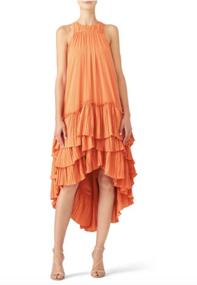 Rent maternity dress for a wedding